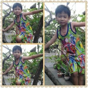 น้องเกมส์ปีนต้นไม้